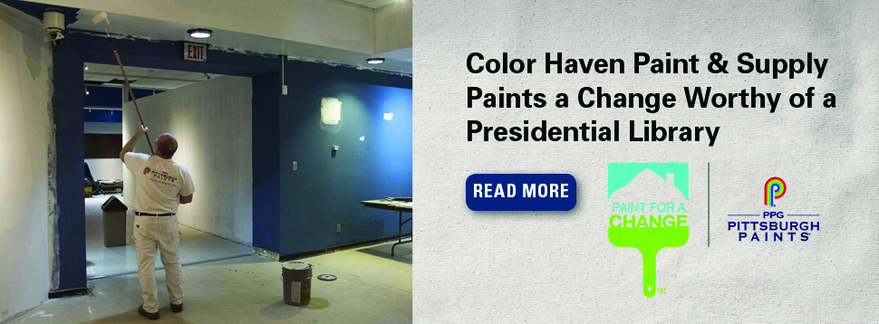 PPG Pittsburgh Paints Paint for a Change Program