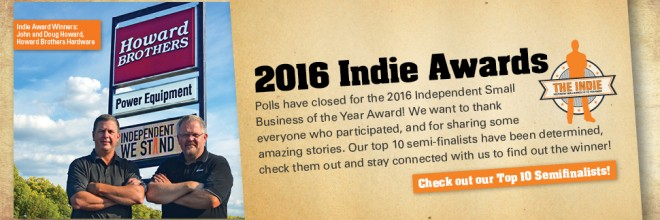 Announcing the Top 10 Semi-Finalists of the 2016 Indie Awards!