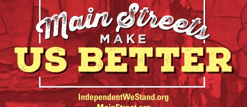Independent We Stand Sets Off On A Main Streets Make Us Better Road Trip