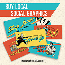 Buy Local Social Graphics