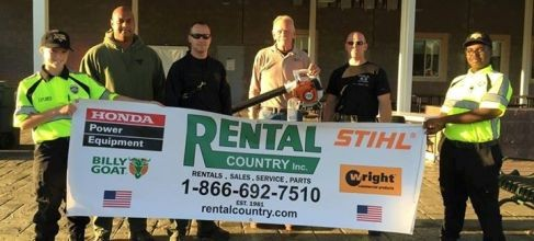 Rental Country, Inc. Takes Action for Local K9s