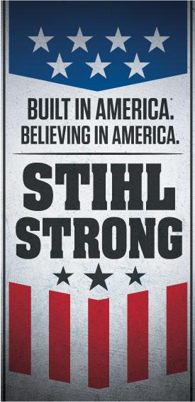 stihl strong logo