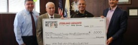 Macomb County Sheriff's Department Receives Donation from Sterling Heights Dodge