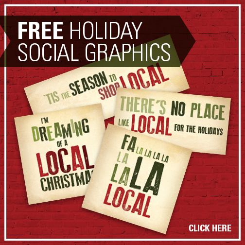 Holiday Buy Local Graphics