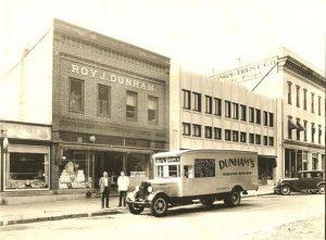 Dunham's Dept. Store 1933