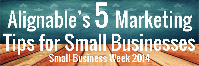 Five Marketing Tips for Small Businesses