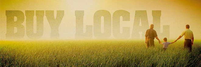Shop Local - It's Good For The Environment!
