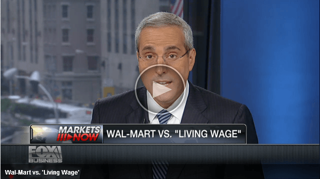 Wal-Mart Living Wage Battle