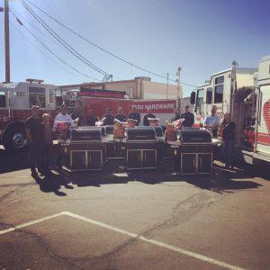Havasu donated grills