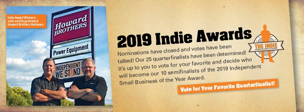 Indie Award Quaterfinalist