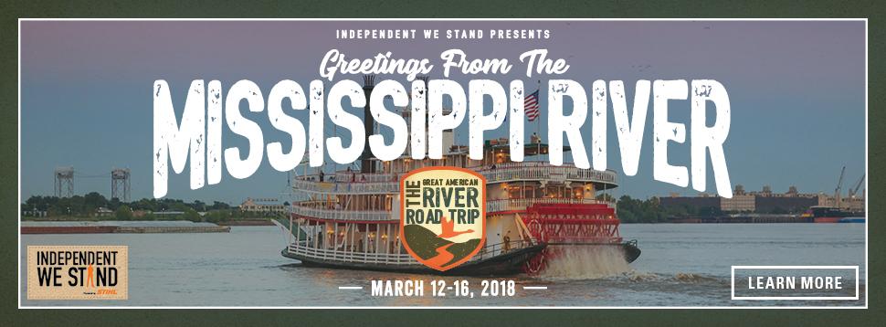 Mississippi River Road Trip logo