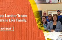 Dick-n-Sons Lumber Treats Local Veterans Like Family