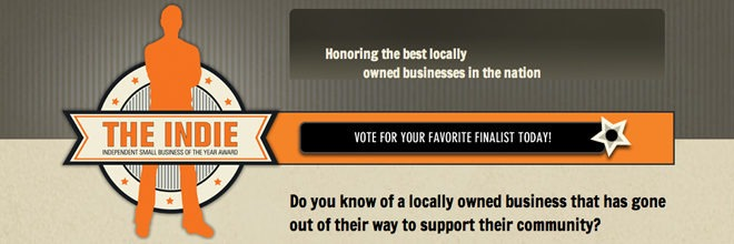 Indie Awards: It's Voting Time!
