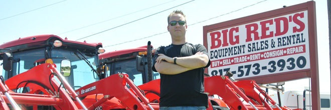 Big Red's Equipment – Small Business, Big Inventory
