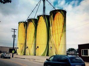 Corn silo Image