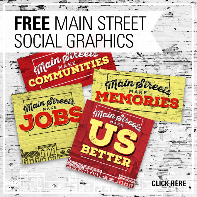 Free Main Street Social Graphics