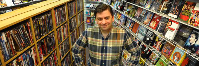 Independent video stores survive as big chains die