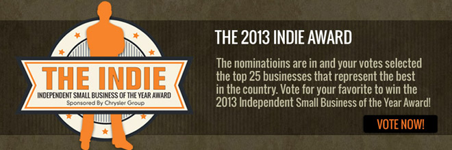 Announcing the 2013 Indie Award Semifinalists