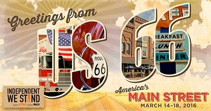 Iconic Route 66 Road Tour Promotes America's Main Streets Contest